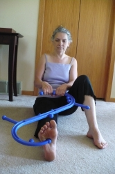 The Body Back Buddy: pressure points in foot