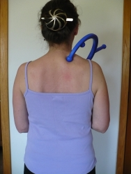 The Body-Back-Buddy: Trapezius massage