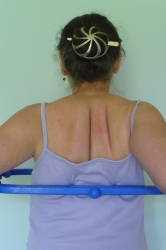 The Body Back Buddy: Pressure points on mid back